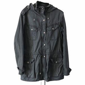 Buffalo David Bitton Black Utility Jacket small